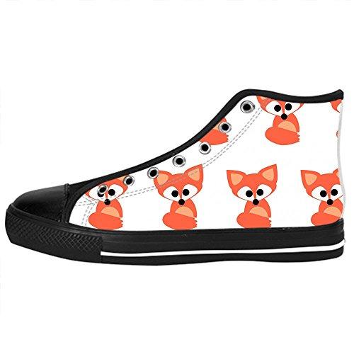 Tetto Women's da Fox Lacci Custom Alto Scarpe Canvas Shoes Scarpe Ginnastica delle Scarpe I 6OAAxw5