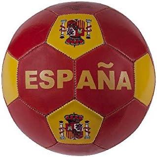 Toinsa - Balón de Fútbol Rojo y Amarillo