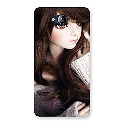 Superb Big Beautiful Eyes Girl Back Case Cover For Amazon In Electronics