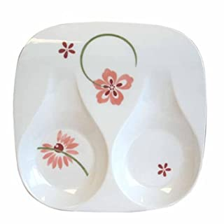 Corelle Coordinates by Reston Lloyd Melamine Double Spoon Rest, Pretty Pink