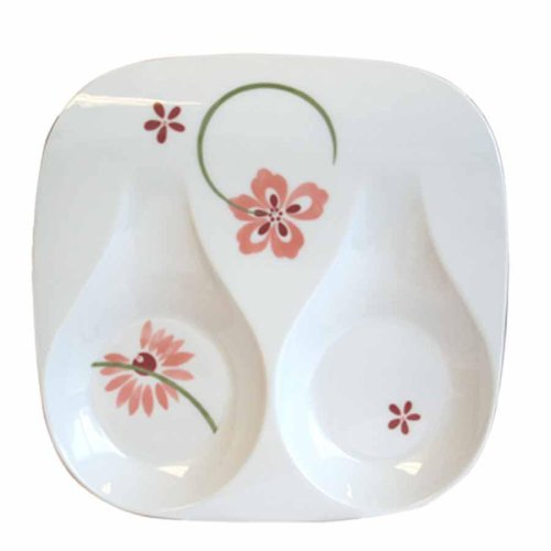 - Corelle Coordinates by Reston Lloyd Melamine Double Spoon Rest, Pretty Pink
