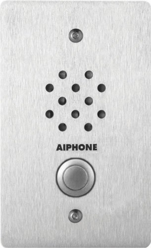 - Aiphone LE-SS-1G Vandal-and Weather-Resistant Single-Gang Door Station for Use with AX, LAF/LDF-C, LEM, LEF, MP-S Series Intercom Systems