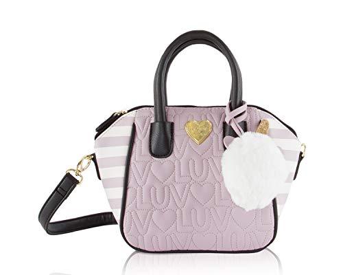 Luv Betsey Quinn Small Mini Satchel Crossbody Shoulder Handbag - ()