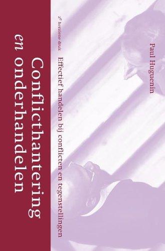 Conflicthantering En Onderhandelen (Dutch Edition) by Springer
