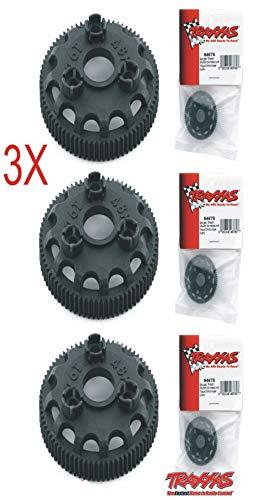 (Traxxas 4676 Spur Gear 76T 48P (3pcs) Slash 2WD Rustler Stampede Bandit VXL XL-5)