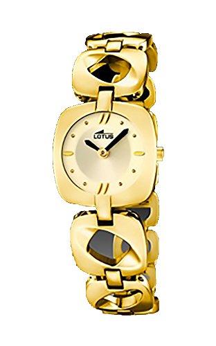 Lotus women golden watch in stainless steel l15838_3