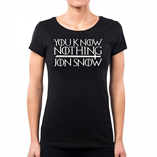 Pacdesign Jon Black T Spade Series Snow Of Serie Tv Trono Pd1460a shirt Di Il Donna Thrones Games N80Owymnv