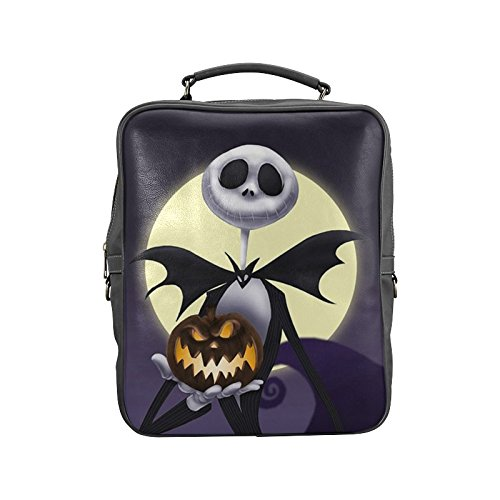 Navarro Halloween October 31 Jack O Lantern Backpack School Leisure Shoulder Bag (Undead Nightmare Costumes)