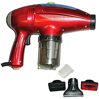 Dust Care Steamy Vac Hand Vacuum And Hot Heat Steamer