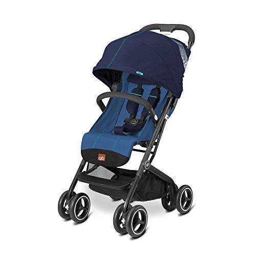 gb 2017 Buggy QBIT+ from birth up to 17 kg (approx. 4 years) Sea Port Blue - GoodBaby QBIT PLUS by gb