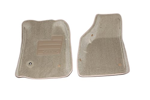 Lund 602627 Catch-All Carpet Beige Front Floor Mat - Set of 2