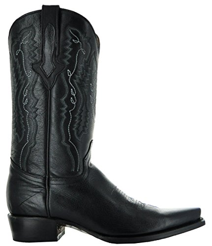 Soto Boots Rio Grande Heren Cowboylaarzen Van Black