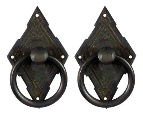 Brass Drawer Pull Backplates - 8
