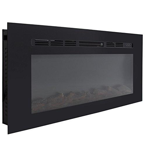 wall mount fireplace ventless - 9