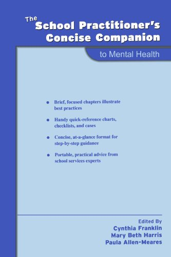 The School Practitioner's Concise Companion to Mental Health (School Practitioner's Concise Companions)