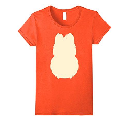 Cheap Easy Halloween Costumes Ideas (Womens Tiger Lion Fox Costume T-Shirt Easy Cheap Halloween Costume Medium Orange)