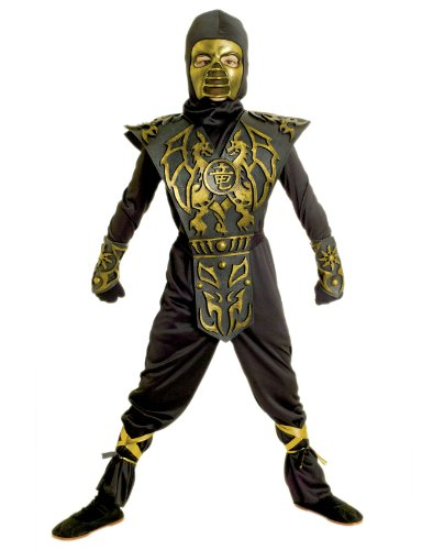 Paper Magic Group Blazing Dragon Ninja-1 Boy's Costume, Small 4-6