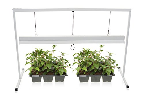 Milliard 4-Foot Plant Starter 2 Bulb T5 Grow Light System - 54W - Bulbs Included