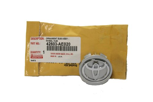 Toyota Genuine Parts 42603-AE020 Alloy Center Wheel Cap