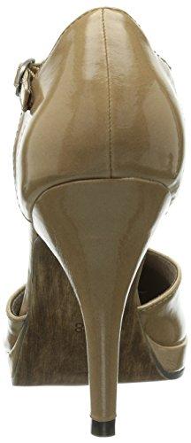 Tamaris 24428 - Merceditas con tacón Nude Patent 267