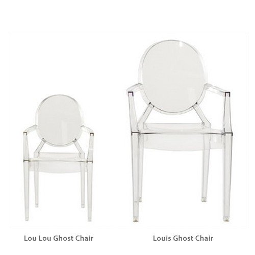 Children's Lou Lou Ghost Armchair by Imported Furniture