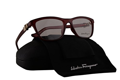 Salvatore Ferragamo SF2728 Eyeglasses 53-16-135 Wine w/Demo Clear Lens 606 SF - Ferragamo Glasses Reading