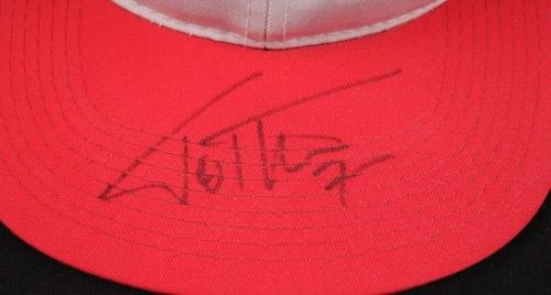 Toni Kukoc Bulls Signed NBA Sports Specialties Hat COA JSA Certified Autographed NBA Hats