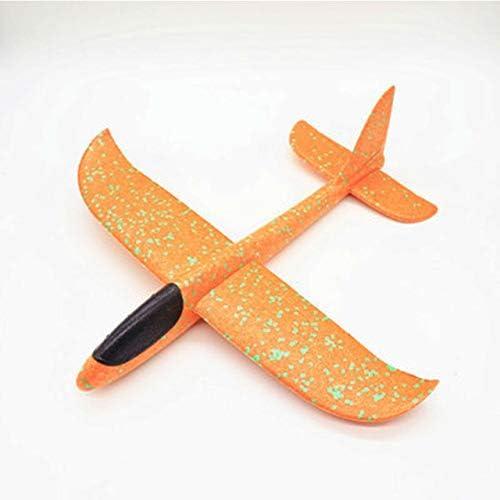 Brandless DIY Hand Throw Flying Glider Luminous Planes Toys for Children Foam Aeroplane Model Fillers Glow in The Dark Plane Toys Game