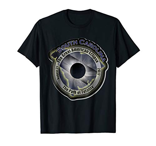 Total Eclipse August 21 2017 South Carolina Totality Shirt ()
