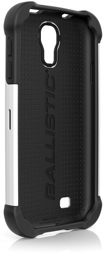 Ballistic Samsung Galaxy S 4 Tough Jacket Case - Retail Packaging - Black/White