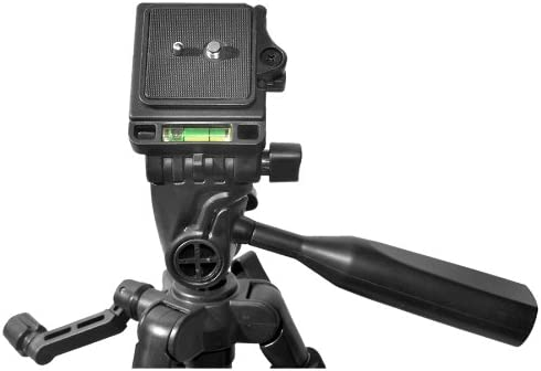 DCR-SX41 DCR-SX63 60 Pro Series Lightweight Photo//Video Tripod /& Carrying Case for Sony DCR-SX40 /& DCR-SX85 Camcorders w// HeroFiber Ultra Gentle Cleaning Cloth DCR-SX44 DCR-SX45 DCR-SX68 DCR-SX65