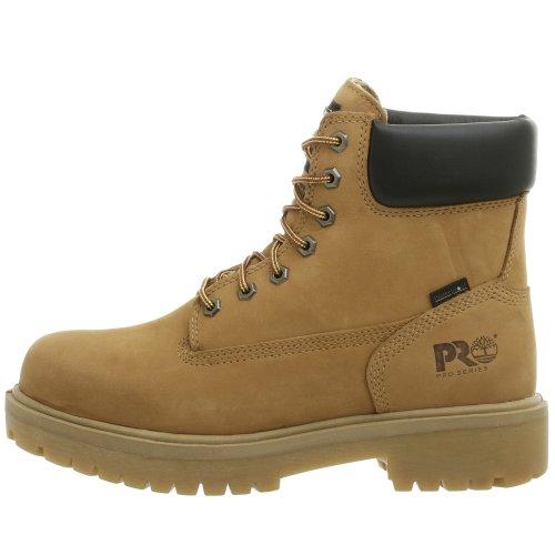 Timberland PRO Men's Direct Attach Six-Inch Soft-Toe Boot, Wheat Nubuck,9.5 W by Timberland PRO (Image #6)