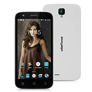"Ulefone U007 - Smartphone libre Android 6.0 (Pantalla 5.0"", Cámara 8.0 Mp, ROM 8 GB, Quad Core 1.3GHz, Wifi, Dual SIM), Blanco"