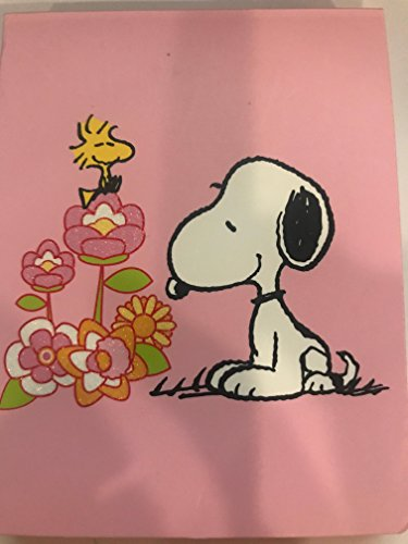 Snoopy with Woodstock flip Notepad - Flip Top Notepad