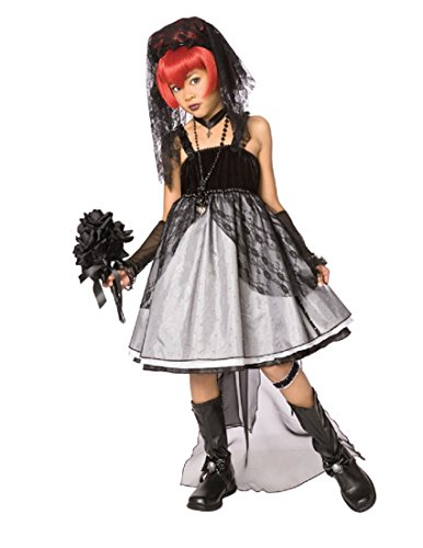 Dark Bride Costumes For Kids (Palamon Dark Bride Child Costume Black Large (12-14))