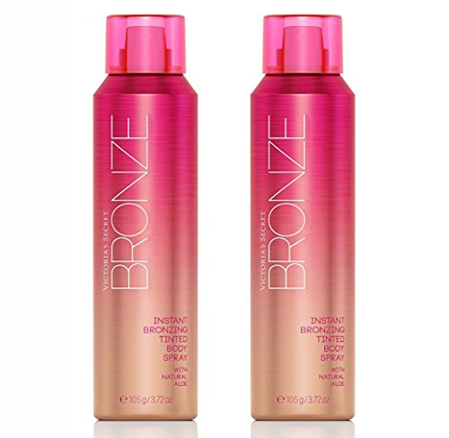 Victoria's Secret Bronze Instant Bronzing Tinted Body Spray Bundle set of ()