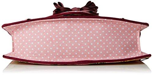 Irregular Choice Summer Breeze Clutch - Bolsa Mujer Rosa (Pink)
