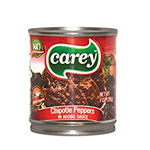 Carey Chipotle Pepper in Adobo Sauce Chipotle Chile, 7oz, 24 Pack