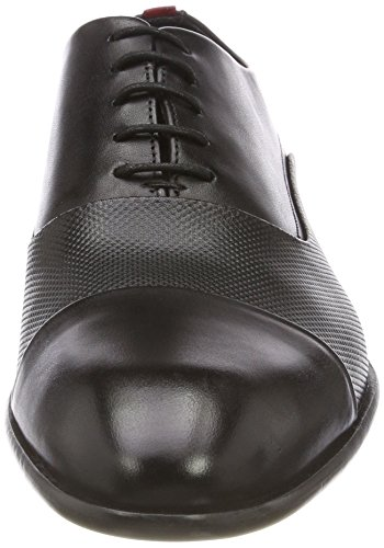 001 ctpr Stringate Appeal Black Scarpe Hugo Nero oxfr Oxford Uomo gapwRzxqR