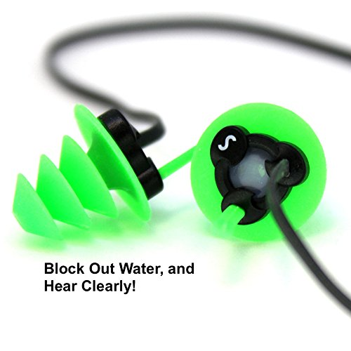 Pro Ear Scuba (Waterproof Super Soft Silicone Ear Plugs For Surf, Surfing, Swimming By SEKI - Block Out Water, Allow Hearing, with Corded Earplugs For Surfer, Swimmer, Adults, Diving Hearing Protection)