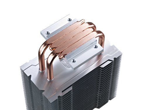 Cooler with Dual Contact Heatpipes