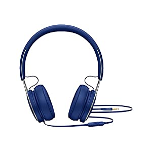 Beats Ep Wired On-Ear Headphones – Battery Free For Unlimited Listening, Built In Mic And Controls – Blue