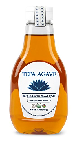 100% Agave Tequila (Tepa Agave 100% Pure Organic Blue Agave Syrup - Light Agave Flavor - 11.9 oz)