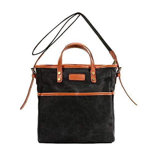 Multifunctional Messenger Bag Hand Bag Genuine Leather Leisure Sport Ms Men Travel Hiking Satchel Briefcase Traveling Work Bags,Black ZCBDNB Messenger Bag
