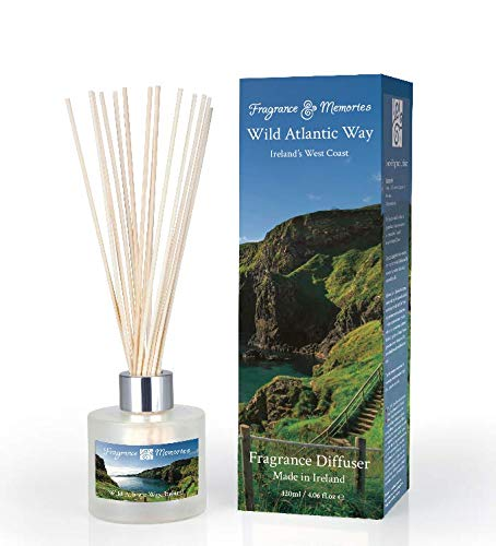 Fragrances and Memories - Fragrance Diffuser - 4 oz - Wild Atlantic Way (Atlantic Memories Coastline)