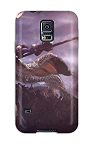 Slim New Design Hard Case For Galaxy S5 Case Cover Demigod_by_gas_powered_games