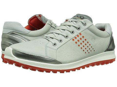 (エコー) ECCO メンズゴルフシューズ靴 BIOM Hybrid 2 [並行輸入品] B06ZYC7LDR 40 (US Men's 6-6.5) (n/a) D - M Concrete/Fire