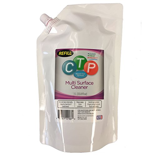 CTP Multi Surface Cleaner Refill Buddies, 1 Liter (33.8 fl. oz.) from TCP