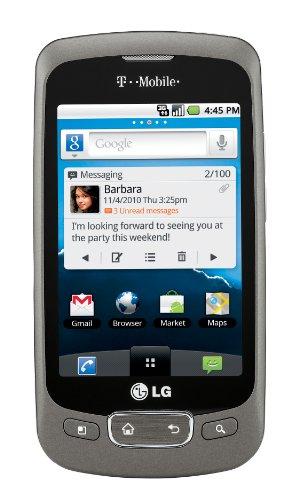 OPTIMUS P509 Smartphone Bar Titanium