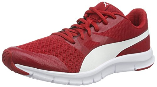 Zapatillas Rojo 15 Puma White Cherry Adulto puma Unisex Barbados Flexracer Zac1cqSH